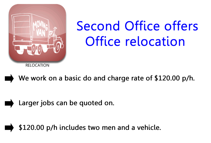 RELOCATION - second office services
